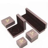 Коробка нового Leatherette замши конструкции изготовленный на заказ упаковывая (J37-E1)