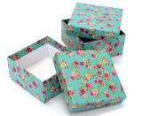 La aduana Handcraft el rectángulo de regalo del papel de imprenta
