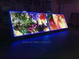 Painel de exibição de diodo emissor de luz de LED de frente e verso sem fio ao ar livre, P10mm