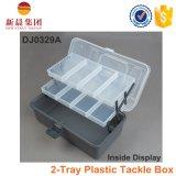 2-Tray effacent le cadre dispensé par plastique de couverture