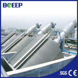 Pantalla de barra del tambor rotatorio del acero inoxidable para el tratamiento de aguas residuales