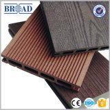 Decking impermeável recicl da textura de madeira sintética material WPC