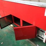 Refrigerador Sanye Made Refrigerador Deli de la puerta del vidrio del tipo de la vuelta con el sitio trasero del almacenaje