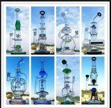 De nieuwe Rokende Waterpijp van het Glas van de Vorm van de Windmolen van de Percolator van Birdcage van de Aankomst