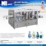 Terminar la línea de relleno del agua de botella por automático