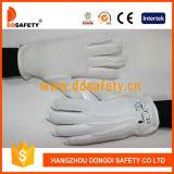 Ddsafety 2017 guanti di sicurezza del cotone del candeggiante di 100% con i puntini del PVC