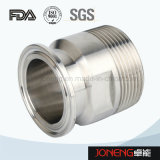 Adaptador da tubulação sanitária de aço inoxidável 19wbf (JN-FL3003)