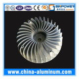 Alumínio personalizado do dissipador de calor pelo expulso 6063 T5/T6