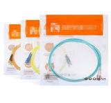 Câble fibre optique duplex LC d'Om1 62.5/125 à plusieurs modes de fonctionnement Ofnp au LC supportant 10g 3m
