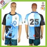Jerseys de encargo de la liga del rugbi de Stiped de la impresión de Nueva Zelandia Digital
