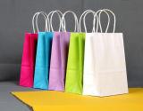 Bolso de compras de papel respetuoso del medio ambiente promocional