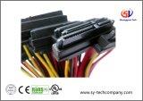 Ordinateur portatif 4 harnais de fil de Pin/7 bornes SATA avec la jupe de PVC
