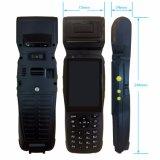 Handheld неровный стержень POS блока развертки Barcode и Handheld принтер Android PDA Zkc3502