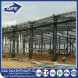 La mayoría de la estructura de edificio prefabricada calificada de la azotea de acero para el invernadero con el estacionamiento del coche