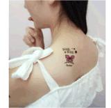 Tatuaje temporal impermeable del arte de la etiqueta engomada del tatuaje de la mariposa de moda