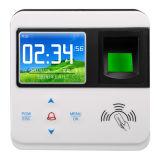 組み込みIDのカードセンサーとのTCP/IPネットワーク指紋の時間出席