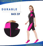 Fashion Shorty Neoprene Diving Surfing Suit pour Femme