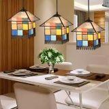El cambio de color moderno vidrio esmerilado Cafetería Bar de techo lámpara de luz