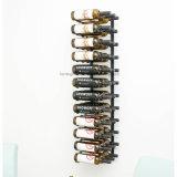 Cremagliera fissata al muro del vino del metallo di serie 36-Bottle della parete della cantina per vini