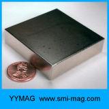Le GV a délivré un certificat l'aimant de néodyme de bloc d'aimants permanents de nickel à vendre