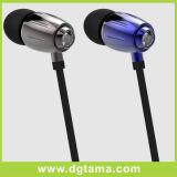 Écouteur d'écouteur d'écouteur de microphone de dans-Oreille pour la galaxie S6/S5 de Samsung d'iPhone