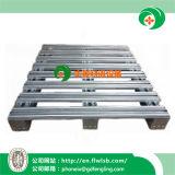 Pálete galvanizada personalizada do metal para o armazenamento do armazém por Forkfit