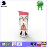 BPA libèrent la double tasse de course de Noël de mur