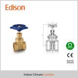 Válvula de puerta de cobre amarillo (BAGV)