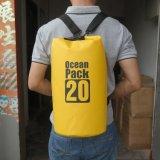 Sacchetto asciutto del pacchetto impermeabile dell'oceano del PVC di sport esterni 500d