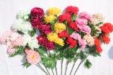 가정 결혼식 훈장을%s 가짜 꽃이 생생한 실크 인공적인 작약에 의하여 꽃이 핀다