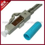 conectores de epoxy con varios modos de funcionamiento ópticos OM3 del LC de fibra de 2.0m m 3.0m m