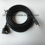 HDMI Kabel mit rechtwinkligem/Gold überzogen
