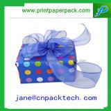 Cadre de empaquetage de belle de bande boîte-cadeau faite sur commande de papier