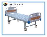 (A-103) het Beweegbare Vlakke Bed van het Ziekenhuis met ABS het Hoofd van het Bed