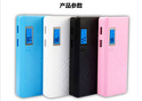 10000mAh Chargeur portable Power Bank LED Light avec Digal Display