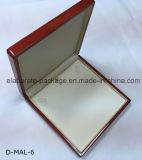Rectángulo de joyería determinado de la venta al por mayor del rectángulo de la joyería hecha a mano de madera