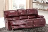 Sofá do Recliner de China, sala de visitas L moderno sofá da forma, sofá de dobramento da função da base (UL-NS137)