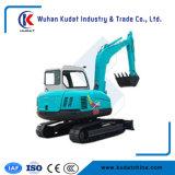 Mini máquina escavadora 5000kg e 0.18m3 Bcket equipado com o motor de Yanmar