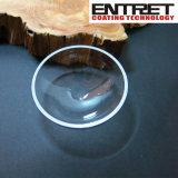 Cuarzo: Vaso inferior redondo de la evaporación del cuarzo