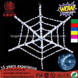LED decorativo Pink Bat Spider PVC Holiday Light para Halloween Decoração