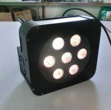 Wireless até 7PCS 15W Rgbaw Puck LED PAR Cans
