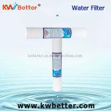 Filtro de agua material de los PP con el cartucho de filtro hecho girar de agua