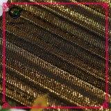 ポリエステルナイロン衣類のためのヤーンによって染められる通気性のメッシュ生地
