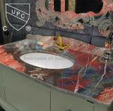 고품질 목욕탕 설치 수채 Sn013의 밑에 세라믹 손 세면기