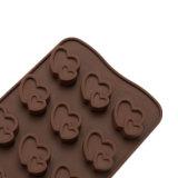 Molde material del silicón de la categoría alimenticia del certificado del nuevo producto FDA, molde de /Chocolate del molde del pudín del silicón de la dimensión de una variable de las bolas del corazón
