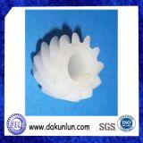 Engranaje de encargo del plástico del nilón POM de la precisión pequeño