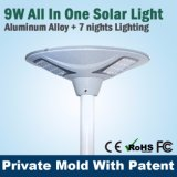 Lampe LED Solar Plaza LED Outdoor Garden Light Garantie 3 ans Solar Lamp Company