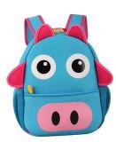 Beau sac à dos de sac d'école du néoprène de lumière de dessin animé pour le garçon
