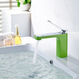 Green Painting Basin Mixer Robinets de lavabo Robinets de lavage