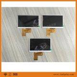 """5개의 """" 선택 Innolux/Hannstar LCD 위원회를 가진 480*272 해결책 40 핀 LCD 모듈"""